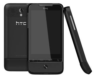 "Illustration for article titled HTC Paints Its Already-Stunning Legend and Desire in ""Phantom Black"" and ""Brilliant White"" Hues"
