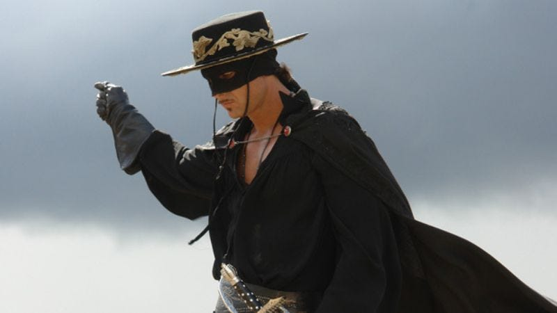 Illustration for article titled Sony prepping the return of new, depressing Zorro