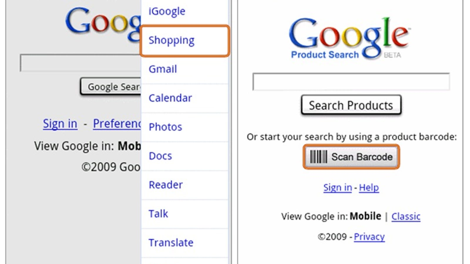 Google Product Search For Android Phones Now Features Barcode Scanning