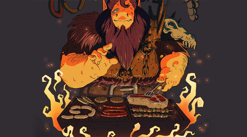 Illustration for article titled The BBQarian