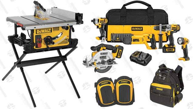 This Sale on DeWalt Tools and Accessories Will Make You Want to Build Something