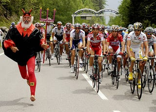 Illustration for article titled I Have Seen The Devil, And He Is A German Cycling Fan