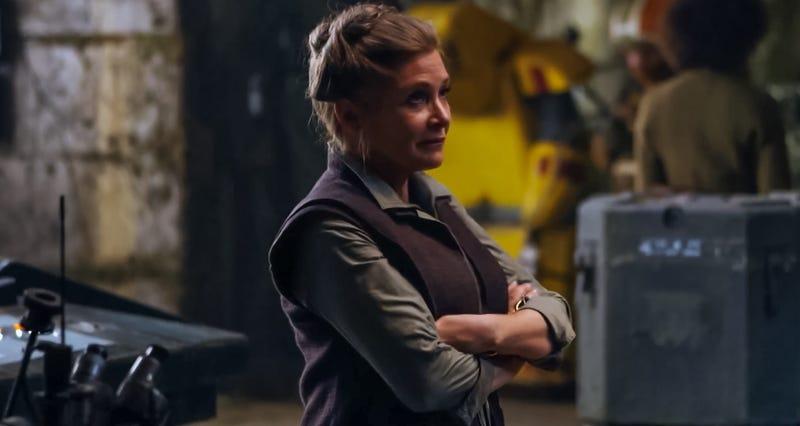Illustration for article titled La razón por la que Leia ya no confía en la Nueva República en The Force Awakens