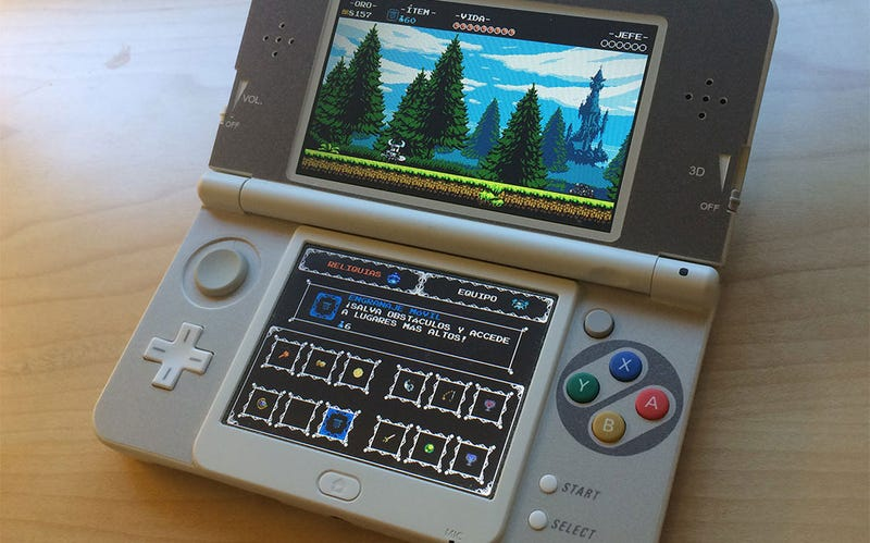 """Illustration for article titled Custom """"SNES"""" New 3DS Is Pretty Much The Perfect Nintendo Handheld"""
