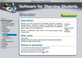 Illustration for article titled Download of the Day: Software for Starving Students (Win/Mac)