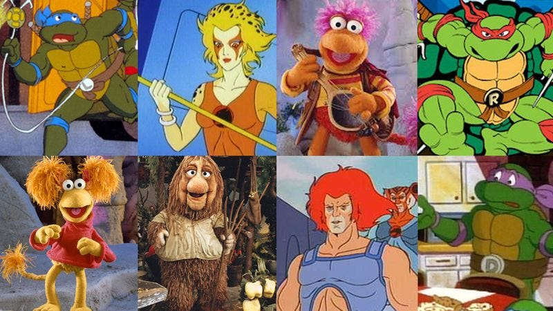 Via Nickelodeon, Jim Henson, Marvel Comics
