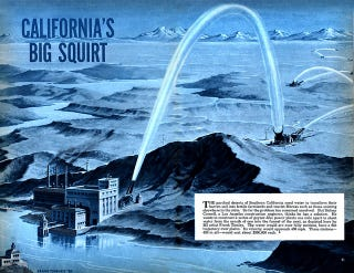 Illustration for article titled California Has Just One Year of Water Reserves, So... Water Cannons?