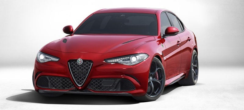 Illustration for article titled Possible Leaked Document Reportedly Shows The Alfa Romeo Giulia Engine Lineup