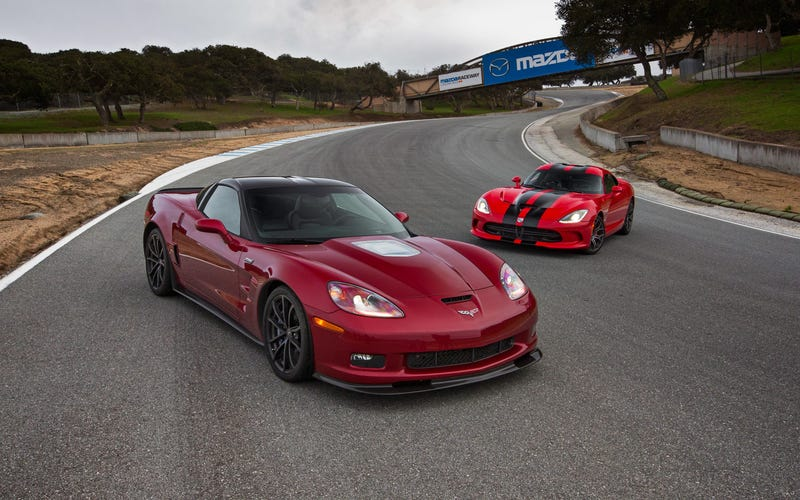 Illustration for article titled ZR1 or Viper?