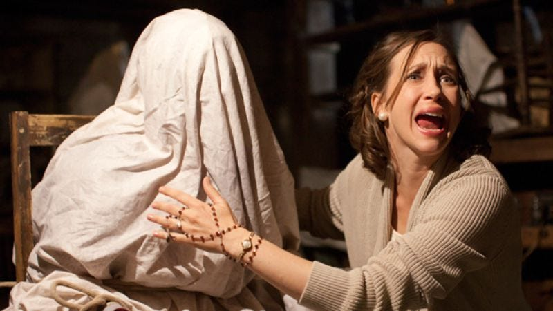 Illustration for article titled The Conjuring 2 pushed to 2016, probably by ghosts