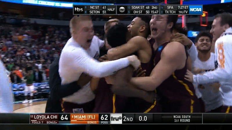 Loyola-Chicago Beats Miami On Last-Second Three-Pointer