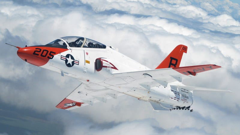 Illustration for article titled Two Navy Pilots injured in training flight accident...