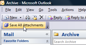 Illustration for article titled SaveAllAttachments Archives and Deletes Outlook File Attachments