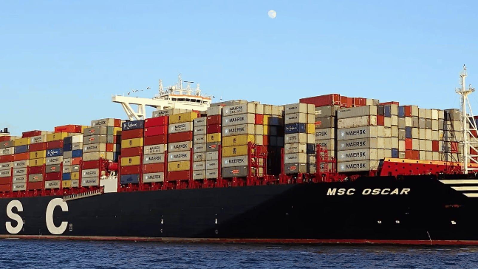 Los 15 barcos más grandes del mundo que surcan los mares