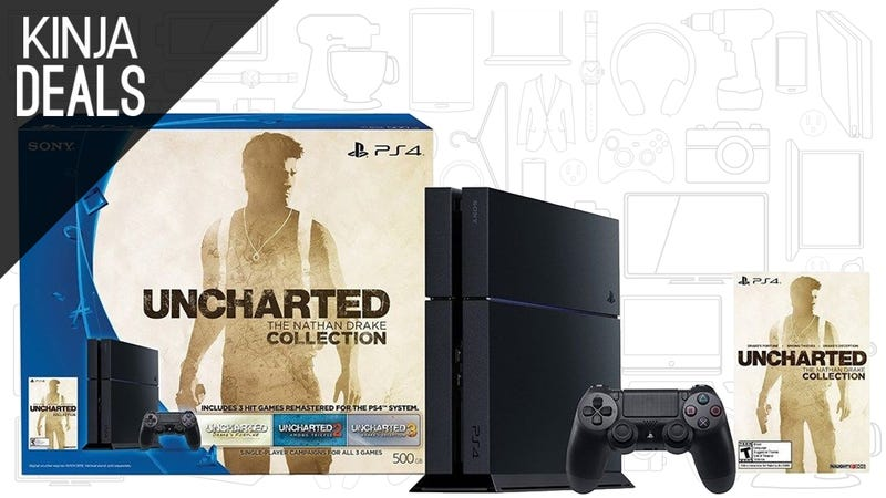 The Ps4 Uncharted Bundle For 310 Is The Best Ps4 Price We