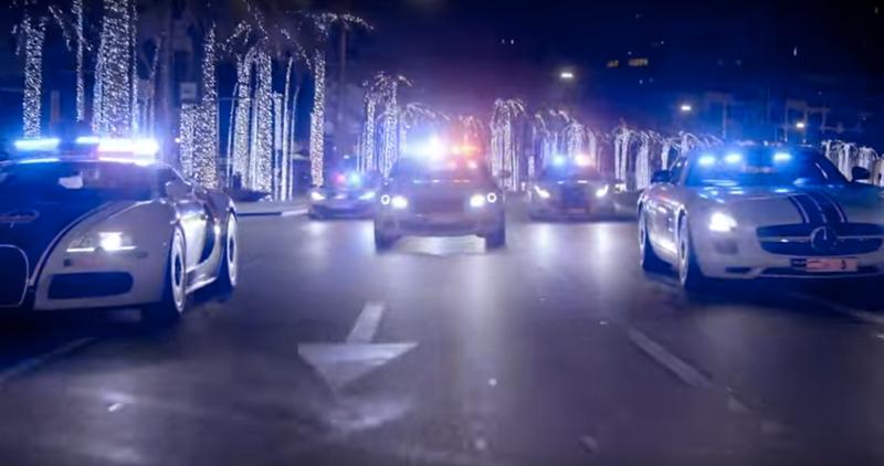 Illustration for article titled Here's A Peek Into Dubai's Insane $6.5 Million Police Fleet