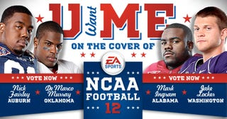 Illustration for article titled NCAA Football 12's Cover Goes Up For a Vote