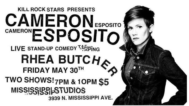 Illustration for article titled Hey Portland, win tickets to see Cameron Esposito tape a comedy special