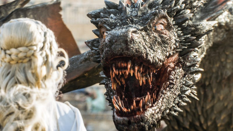 There's a Reason Game of Thrones' Dragons Might Make You Blush