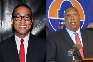 Don Lemon (Getty Images); Rashad Taylor (Atlanta Journal-Constitution)