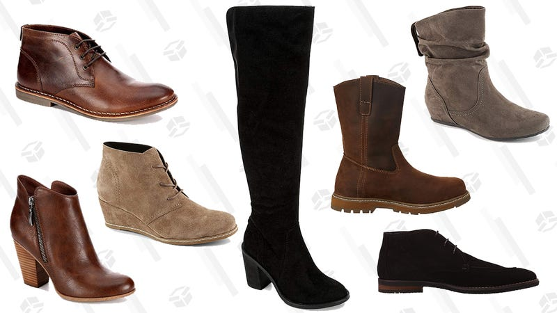 3bf0e59c513 Amazon Has Boots Starting at $17 Today, Because Winter Is Here