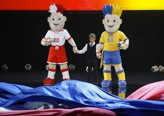 Illustration for article titled Today In Horrifying Mascot Unveilings