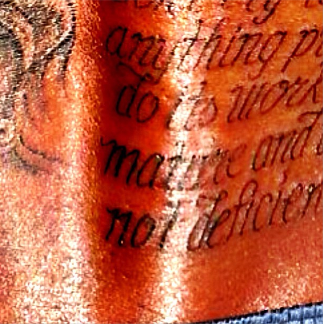 Kevin Durant Tattoo On Back