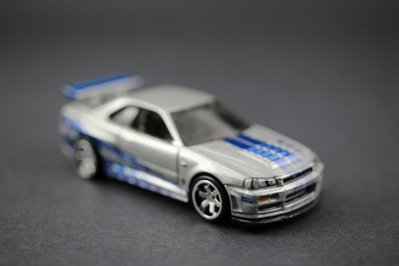 Illustration for article titled Hot Wheels Fast and Furious Series: Brian O'Conner's R34 Skyline