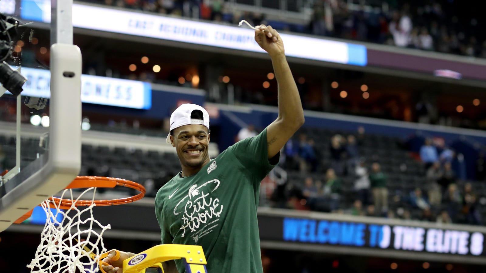 The Glance That Put Michigan State In The Final Four - Deadspin thumbnail