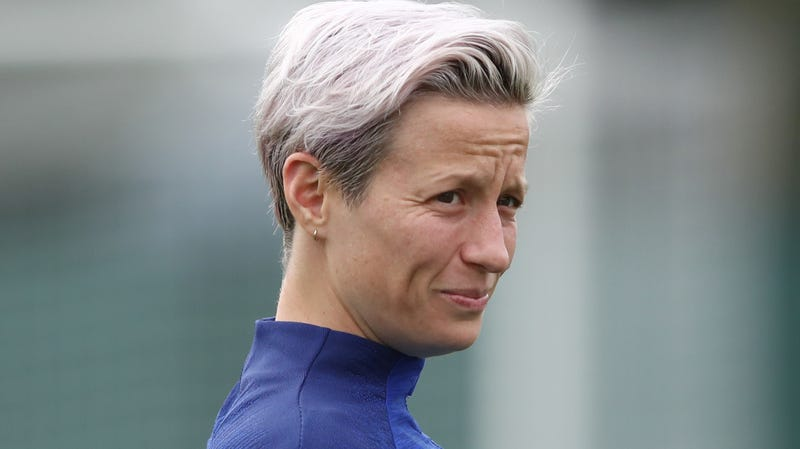 Illustration for article titled Megan Rapinoe Is Not Going to the 'Fucking White House'