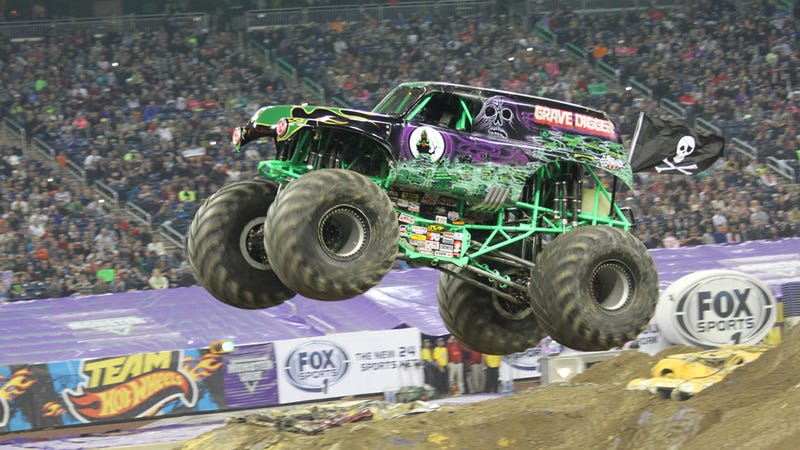 Illustration for article titled Go to Monster Jam. It's totally rad.