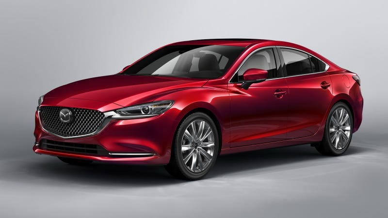 Mazda6 Gets A Fresh Face And More Upscale Feel