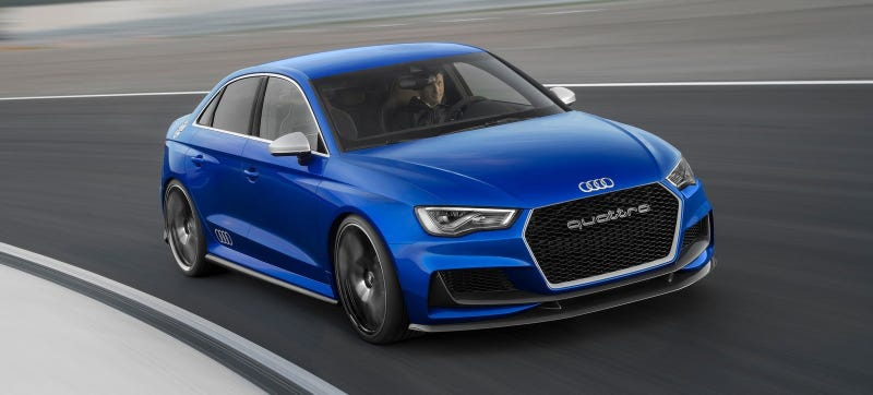 Illustration for article titled Crazy Turbo Five-Cylinder, At Least 340 HP Confirmed For 2016 Audi RS3