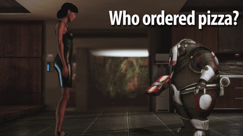 Illustration for article titled I'm Commander Shepard And These Are My Favorite Gags From Mass Effect 3: Citadel