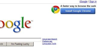 Illustration for article titled Can Google's Chrome Banner Change the Course of the Browser Wars?