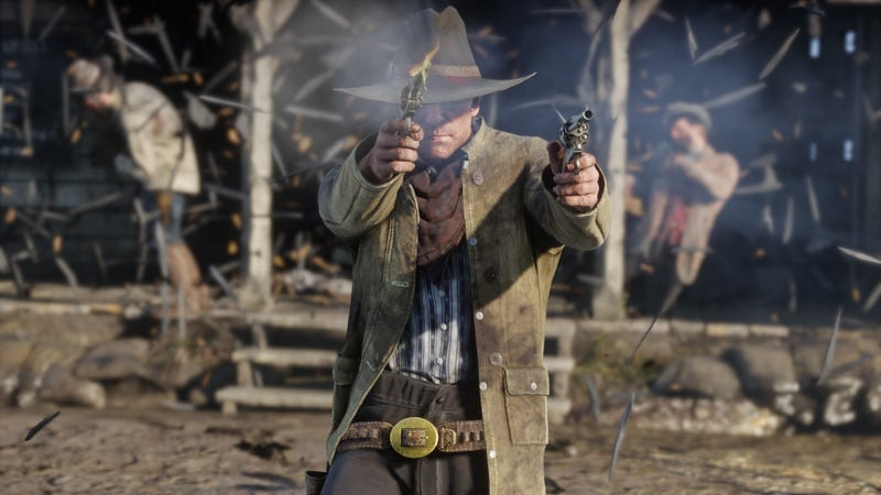 Illustration for article titled Red Dead Redemption 2 Delayed Again, Coming In October