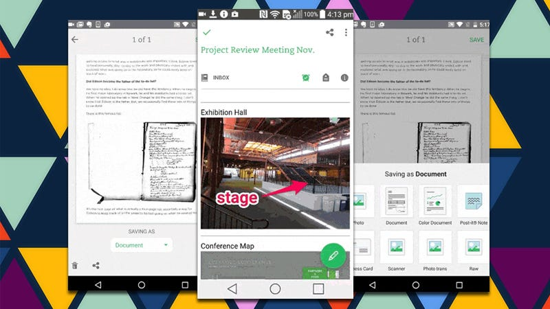 Illustration for article titled Evernote for Android Adds Annotations, Automatically Detects Note Types