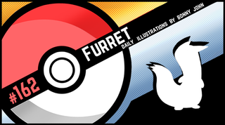 Illustration for article titled Fumbling Furret! Pokemon One a Day, Series 2!
