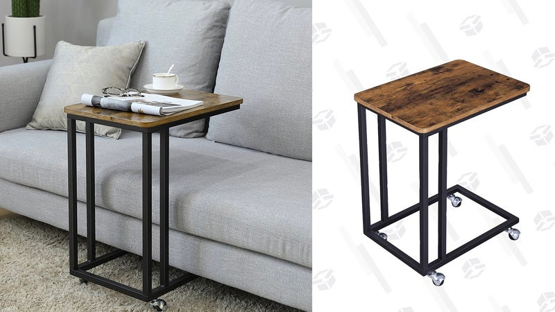 SONGMICS Vintage Snack Side Table | $33 | Amazon