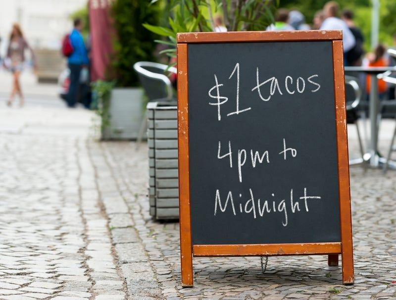 Restaurant's Happy Hour Deals Becoming Increasingly Desperate