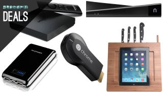 Illustration for article titled Deals: Stream Everything, Tablets in the Kitchen, External USB Charger