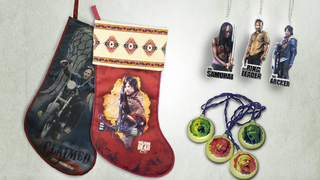 Illustration for article titled Nothing says Christmas like a Daryl Dixon Stocking