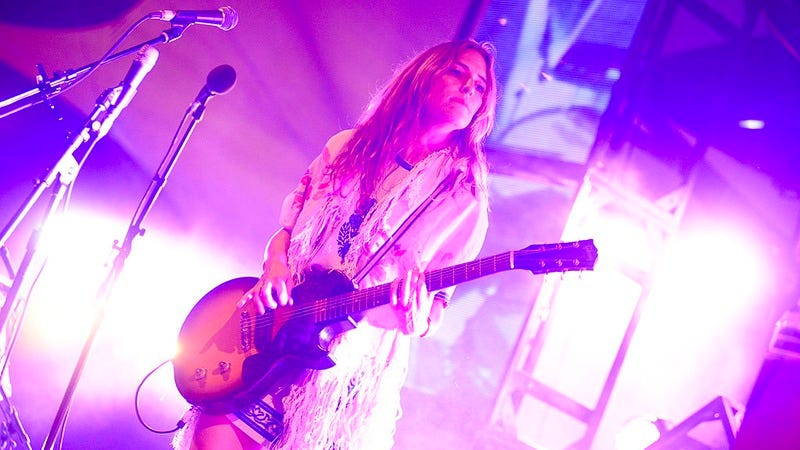 Feist performs at Pickathon Festival, Happy Valley, Oregon, August 5, 2013. (Photo: Anthony Pidgeon/Redferns/Getty Images)