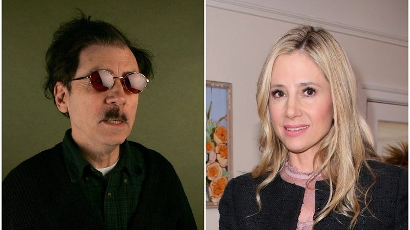 Terry Zwigoff and Mira Sorvino (Photos: Mark Mainz/Getty Images, David Livingston/Getty Images)