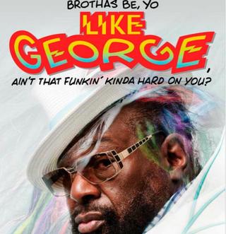 Cover of George Clinton's new memoir, Brothas Be, Yo Like George, Ain't That Funkin' Kinda Hard on You? A MemoirAtria Books