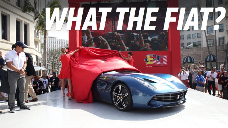 Fiat Chrysler To Spinoff Ferrari With Public Offering