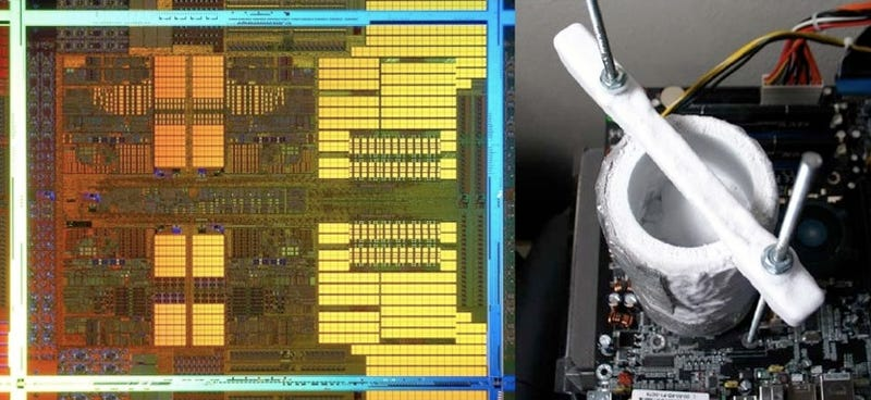 Illustration for article titled AMD Shows Off Phenom II Processor's Headroom, By Overclocking to 5GHz