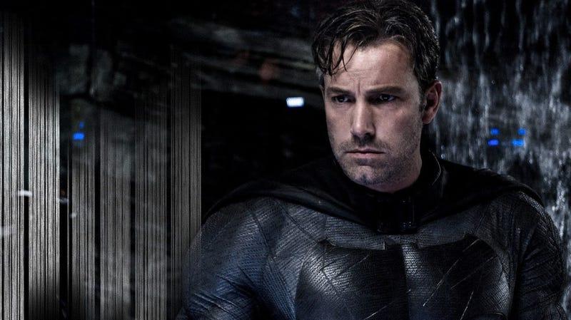 Illustration for article titled Incluso Ben Affleck, el actor que hace de Batman, está de acuerdo con las malas críticas de Batman v Superman