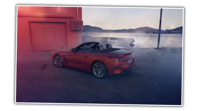 Illustration for article titled This is the 2019 BMW Z4 Before You're Supposed to See It
