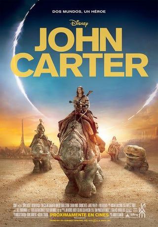 Illustration for article titled John Carter International Poster